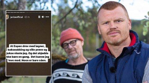 UT I SOSIALE MEDIER: Etter at John Arne Riise røk ut av Farmen har den tidligere fotballspilleren sagt det han mener om oppholdet sitt i sosiale medier.