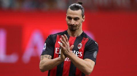 TAP: Zlatan Ibrahimovic og AC Milan tapte stort for Atalanta på lørdag.