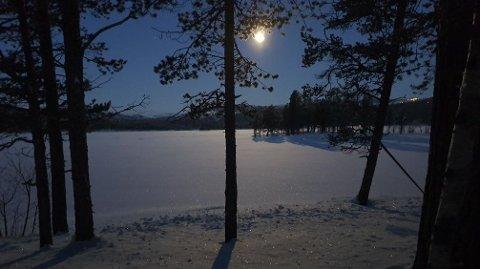 I Skurdalen i Hol kommune var det 33 minusgrader klokken 07:00 i dag tidlig.