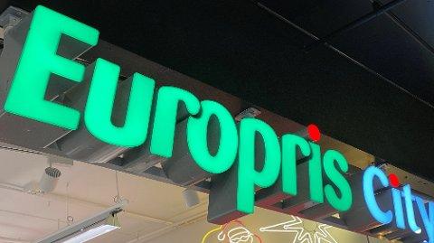 REKORDSALG: Europris hadde rekordsalg i fjerde kvartal av 2020.