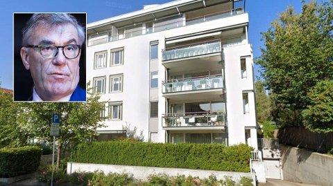 KUPPSOLGT: Stein Erik Hagens leilighet i Eckerbergsgate 24 ble solgt før visning. Prisen var ikke spesielt høy.
