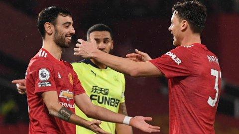 Bruno Fernandes er toppscorer hos Manchester United denne sesongen.