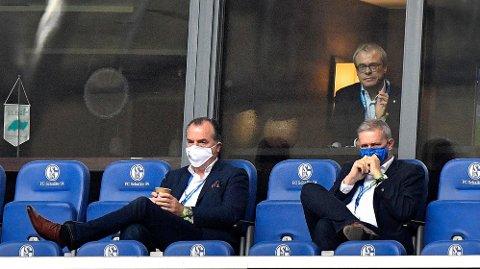 Omstridte Clemens Tönnies måtte gå av som styreformann i Schalke 04 etter smitteskandalen på en av hans pølsefabrikker.