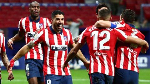 """Luis Suarez har som ventet levert i sin første sesong for Atletico Madrid. Søndag venter Real Madrid i """"El Derbi Madrileno""""."""