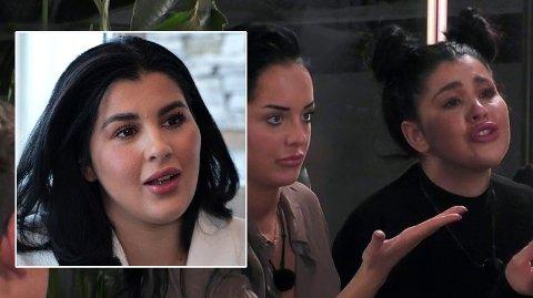 IKKE ENIG: Yasmine San Miguel Moussaoui er ikke enig i fremstillingen av handlingen på «Ex on the Beach – Afterski». Hun mener produksjonen har manipulert hendelsesforløpet.