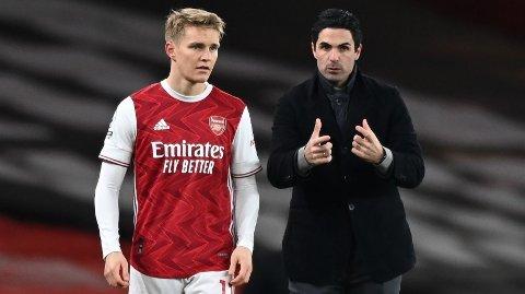 Arsenal-manager Mikel Arteta vil trolig plassere Martin Ødegaard i startoppstillingen for sjette gang når Arsenal møter Olympiakos torsdag.
