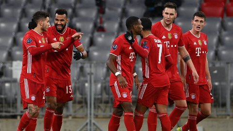 KAN FEIRE: Bayern München kan feire for avansement.