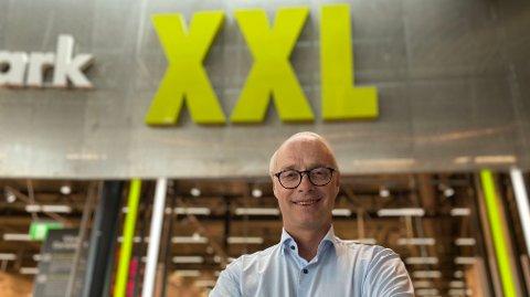 BEHOLDER KUNDENE: Større satsing på netthandel under koronapandemien gir resultater for XXL, og de beholder flere av kundene, noe XXL-sjef Pål Wibe er fornøyd med.