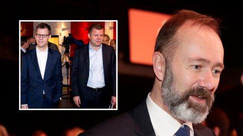 KRITISK: Trond Giske, mediepolitisk talsperson i Arbeiderpartiet, sier han er glad for at norske medieledere ikke får så godt betalt som de danske Egmont-sjefene Steffen Kragh og Hans J. Carstensen.