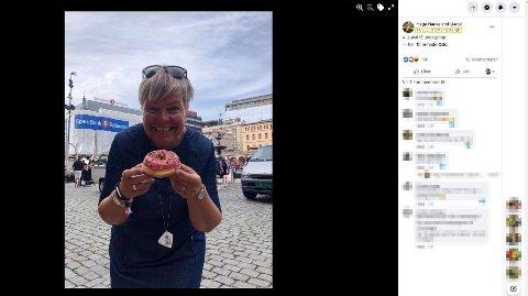 Politiet mener Ap-politikeren uriktig skrev reiseregning for reise t/r Haugesund - Oslo 12. august 2018 kl. 12.00 - 13. august 2018 kl. 09.00. Dette bildet viser at hun allerede var i Oslo dagen før og politiet mener hun aldri foretok den nevnte reisen.