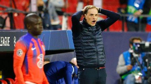 Thomas Tuchel og Chelsea har slitt mot Manchester City. Vi tror de også får problemer i lørdagens semifinale i FA-cupen.