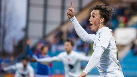 Andreas Helmersen var utlånt fra Rosenborg til Ranheim i 2018. Nå har han skrevet kontrakt med OBOS-liga-klubben Raufoss.