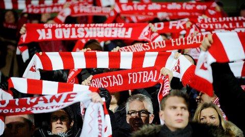 DRØMMER SEG TILBAKE: Fredrikstad håper på fulle tribuner utover i 2021.