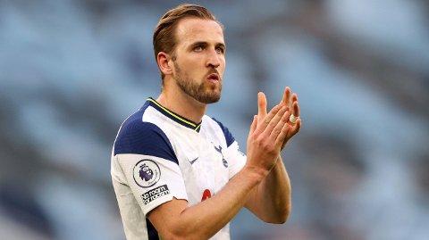 PÅ VEI BORT?: Harry Kane ryktes stadig bort fra Tottenham, og skal være ønsket av klubber i Premier League.