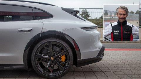 Elbilen Taycan har blitt et gjennombrudd for Porsches Norges-sjef Morten Scheel - og i ny stasjonsvognmodell har det blitt en regelrett familiebil.