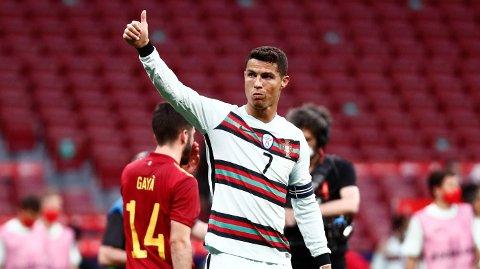 Cristiano Ronaldo har flere EM-rekorder.
