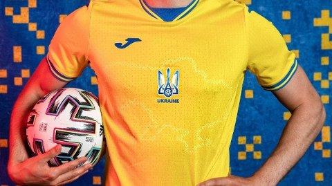 Spissen Roman Yaremchuk, som til daglig er lagkamerat med norske Andreas Hanche-Olsen i Gent, skal også bære den ukrainske landslagsdrakten under EM.