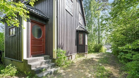 GAMMEL: Denne gamle boligen fra 1930på Ullern i Oslo ble solgt for over 30 millioner kroner denne uken.