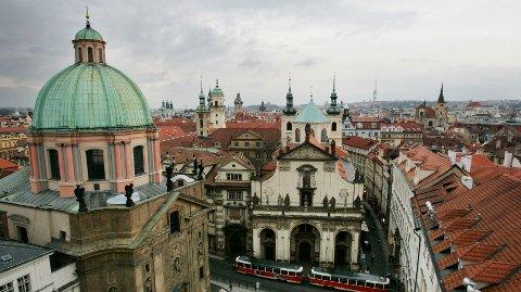 Praha regnes som en vakker by, men tsjekkerne har ikke mye vakkert å si om Dab.