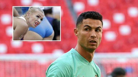 FORSTÅR IKKE HYLLINGEN: Den finske friidrettsstjernen Annimari Korte forstår ikke hvorfor Cristiano Ronaldo blir hyllet for løpingen sin.