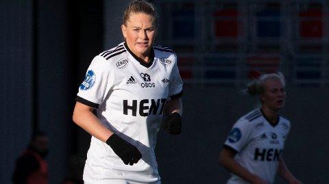 MÅLSCORER: Lisa-Marie Utland spilte en god kamp for Rosenborg mot Avaldsnes.