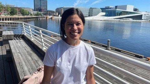MÅTTE GÅ: Avgått MDG-byråd i Oslo, Lan Marie Berg, mener det var viktig av byrådet å gå av for å vise at de ikke lar seg diktere av Rødt og Frp.