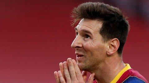 IKKE BARCA: Barcelona bekrefter at Lionel Messi er ferdig i klubben.