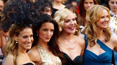 STJERNELAG: «Sex og Singelliv» var en enorm suksess, men Kim Cattrall er ikke med i oppfølgeren.