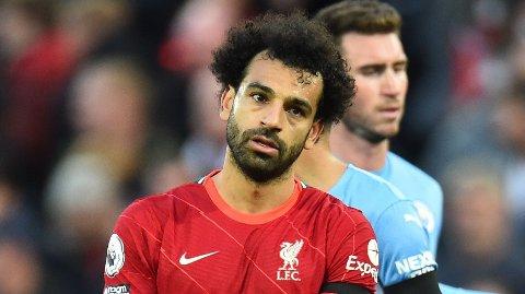 NI PÅ NI: Mohamed Salah har åpnet sesongen for Liverpool på forrykende vis.