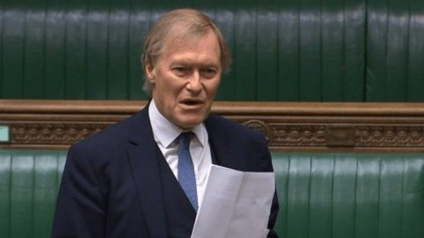 DØD: David Amess har hatt sete i Parlamentet i 24 år.