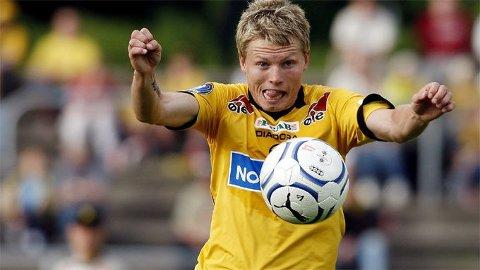 LSKs Bjørn Helge Riise under eliteseriekampen i fotball mellom Sandefjord og Lillestrøm.