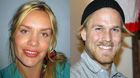 EKSPERTER: Frode Grønvold er driftansvarlig for Henrik Vibskov-butikken i OSlo. Karoline Hestnes er moteredaktør i magasinet Woman.