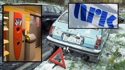 DUMT?:Flaskepanting, TV-lisens og varseltrekanter ved motorstopp blir nevnt som dumme lover i Norge.