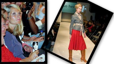 SÅ SO HEE: Mette-Marit så So Hees siste kolleksjon under en motevisning kun for spesielt inviterte under Oslo Fashion Week i 2006. På bildet er hun tilstede på en annen visning.