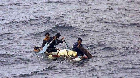 Tre indonesiske fiskere reddet i Javasjøen