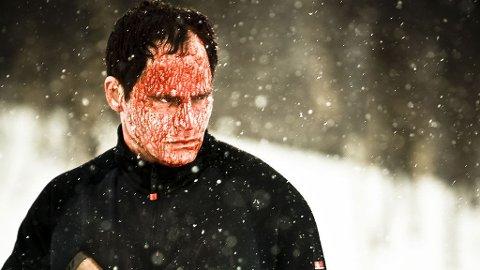 DØD SNØ: Vegard Hoel i en av filmens hovedroller.
