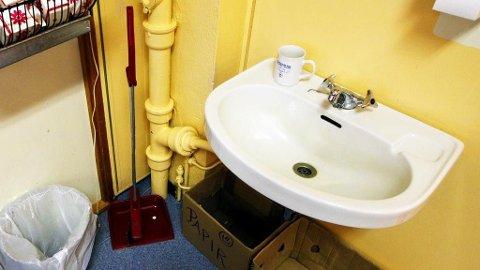 SÅPEVASK: En SFO-ansatt vasket en 8-åring med såpe som straff.
