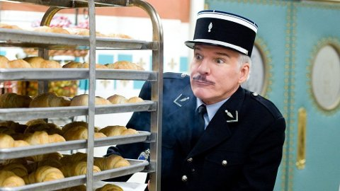 STEVE MARTIN som inspektør Closeau.