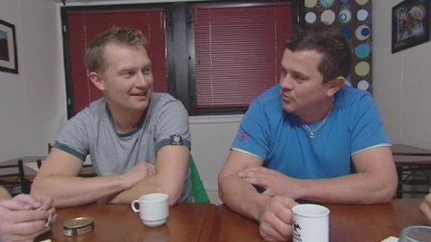 Jimmy Tøllefsen og Rolf Tøllefsen i «Da damene dro»