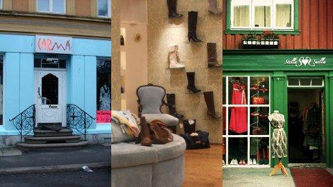 KLÆR OG SKO: Carma og Shoe Lounge i Oslo og Stella Snella i Trondheim er noen av de kuleste butikkene i Norge.