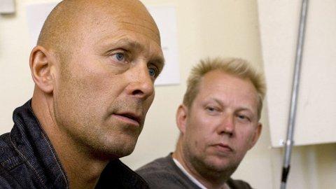 TAPSPROSJEKT: Bookingsjef Toffen Gunnufsen (t.h.) og festivalsjef Morten Sandberg kan bli straffeforfulgt fordi Hovefestivalen skylder over 14 millioner kroner til kreditorer.