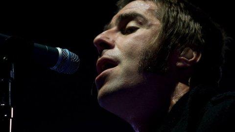 I FORM: Liam Gallagher leverte varene i Spektrum tirsdag kveld. Bare monsterhiten «Wonderwall» fikk hans berømte temperament i sving.