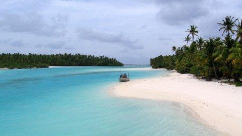 KJÆRLIGHETSREDE: Idylliske Aitutaki på Cook Islands har verdens mest romantiske hotell.