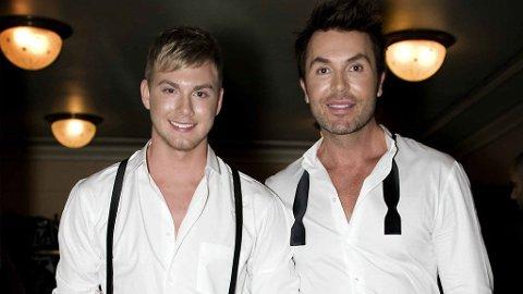 GIFTER SEG? Jan Thomas og Christopher Mørch Husby har vært forlovet i om lag seks måneder - nå går det rykter om snarlig giftermål.