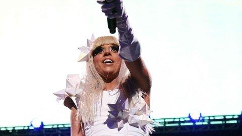 BLONDE AMBISJONER: Lady GaGa er ikke fornøyd med å herje hitlistene. Nå vil hun bli den kvinnelige Andy Warhol.