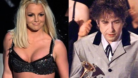 BRITNEY OG BOB: De har kanskje ikke all verden til felles, men både Britney Spears og Bob Dylan har begge kommet tilbake etter mye motgang.