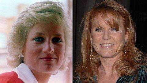 SAMMENLIGNET: Diana og Sarah ble stadig sammenlignet og kritisert i britiske presse på 80- og 90-tallet.