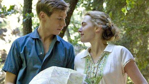 DAVID KROSS får sitt store gjennombrudd mot Kate Winslet i «The Reader». Hun på sin side har fått Oscar for rollen.