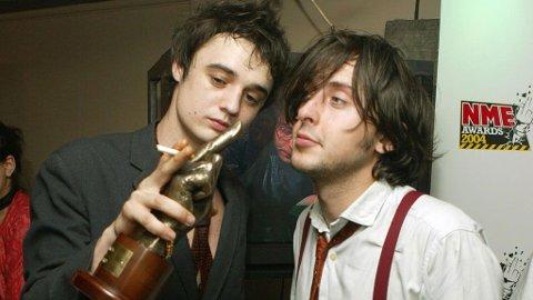 DUNDERDUO: Pete Doherty og Carl Barât regjerte den britiske rockescenen i noen få, intense år som The Libertines.