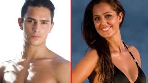 SAMMEN: Øystein og Iris har kost seg sammen etter at de kom hjem fra Mexico.